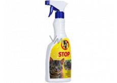 Bio-Enzym Stop Kočka přírodní odpuzovač koček pro použití v interiéru i v exteriéru rozprašovač 500 ml
