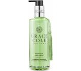 Grace Cole Grapefruit, Lime & Mint tekuté mýdlo na ruce dávkovač 300 ml