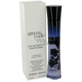 Giorgio Armani Code parfémovaná voda pro ženy 75 ml Tester