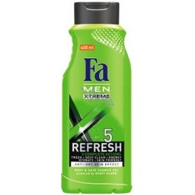 Fa Men Xtreme Refresh sprchový gel na tělo a vlasy 400 ml