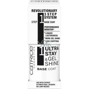 Catrice Ultra Stay & Gel Shine Base Coat podkladový lak na nehty 10 ml