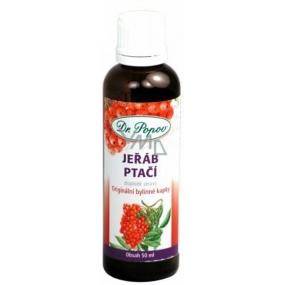 Dr.Popov Jeřáb ptačí originální bylinné kapky antioxidant, vyrovnává hormonální hladinu u žen 50 ml