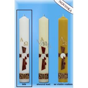Lima Paškál Luxus svíčka bílá 60 x 400 mm 1 kg 1 kus