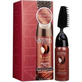 Alterna Stylist 1 Night Highligts Ravishing Red, jednorázová melírová barva na vlasy 93 ml