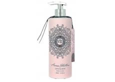 Vivian Gray Aroma Selection Lotus & Rose Luxusní krémové tělové mléko s dávkovačem 500 ml