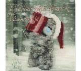 Albi Me To You Blahopřání do obálky 3D Nejkrásnější dárek k Vánocům je 15,5 x 15,5 cm