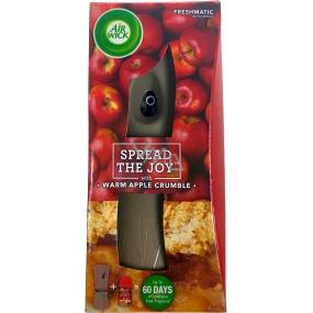 Air Wick FreshMatic Spread The Joy Warm Apple Crumble - Čerstvě upečený jablečný koláč automatický sprej 250 ml