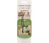 Yankee Candle Vanilla Lime - Vanilka s limetkou vonná visačka do auta papírová 12 g