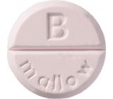 Bomb Cosmetics Hedvábná měkkost - Mallow aromaterapie tableta do sprchy 1 kus
