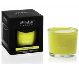 Millefiori Natural Lemon Grass - Citrónová tráva Vonná svíčka hoří až 60 hodin 180 g