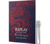 Replay Signature Red Dragon toaletní voda pro muže 2 ml, vialka