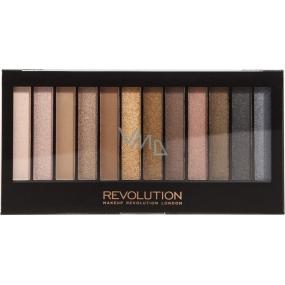 Makeup Revolution Iconic 1 paletka očních stínů 12 x 1,1 g