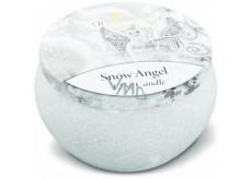 Heart & Home Andělská zima Sojová vonná svíčka v plechovce hoří až 30 hodin 125 g