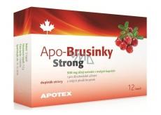 Apotex Apo-Brusinky Strong silný extrakt z celých plodů, doplněk stravy 500 mg 12 kapslí