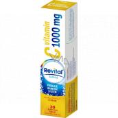 Revital Vitamin C Citron doplněk stravy pro normální funkci imunitního systému 1000 mg 20 šumivých tablet