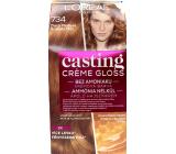 Loreal Paris Casting Creme Gloss krémová barva na vlasy 734 Zlatá medová