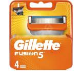 Gillette Fusion náhradní hlavice 4 kusy