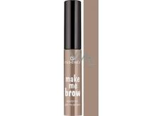 Essence Make Me Brow Eyebrow Gel gelová řasenka na obočí 01 Blondy Brows 3,8 ml
