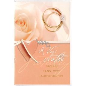 Nekupto Přání k svatbě G 21 2796 K Vaší svatbě