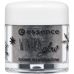 Essence Winter Glow oční stíny 02 Stonecold 1,5 g