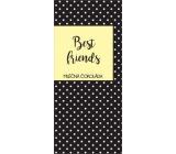 Albi Dárková mléčná čokoláda Beat Friends 50 g 14 x 6 cm