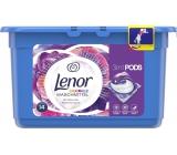 Lenor 3v1 Flower Bouquet gelové kapsle na praní barevného prádla 14 kusů 369,6 g