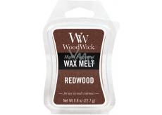 WoodWick Redwood - Santalové dřevo vonný vosk do aromalampy 22.7 g
