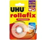Uhu Rollafix Transparent čirá lepicí páska 30 x 19 mm