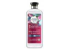 Herbal Essences Clean Strawberry & Sweet Mint Šampon s jahodami a mátou, pro lesklé a hydratované vlasy, bez parabenů 400 ml
