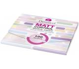 Dermacol Matt Control matující papírky pro smíšenou a mastnou pleť 100 kusů