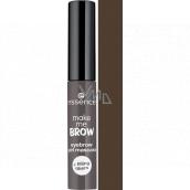Essence Make Me Brow Eyebrow gelová řasenka na obočí 04 Ashy Brows 3,8 ml