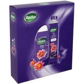 Radox Relax sprchový gel 250 ml + koupelová pěna 500 ml, kosmetická sada