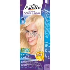 Schwarzkopf Palette Intensive Color Creme barva na vlasy odstín N12 Ledový světle plavý