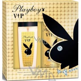 Playboy Vip for Her parfémovaný deodorant sklo pro ženy 75 ml + deodorant sprej 150 ml, kosmetická sada