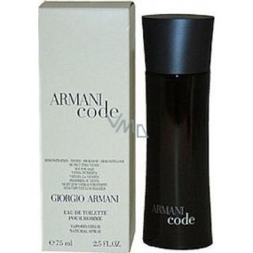 Giorgio Armani Code Men toaletní voda 75 ml Tester