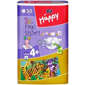 Bella Happy 4+ Maxi Plus 9-20 kg plenkové kalhotky 50 kusů