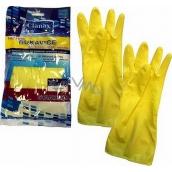 Clanax Latexové rukavice Standard L-9 velké 1 pár