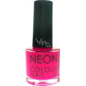 Dor Neon Colour Nail lak na umělé nehty N4 neonová růžová 9 ml