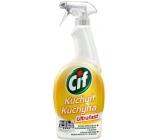 Cif Ultrafast Kuchyně Čisticí prostředek na nečistoty v kuchyni 750 ml rozprašovač