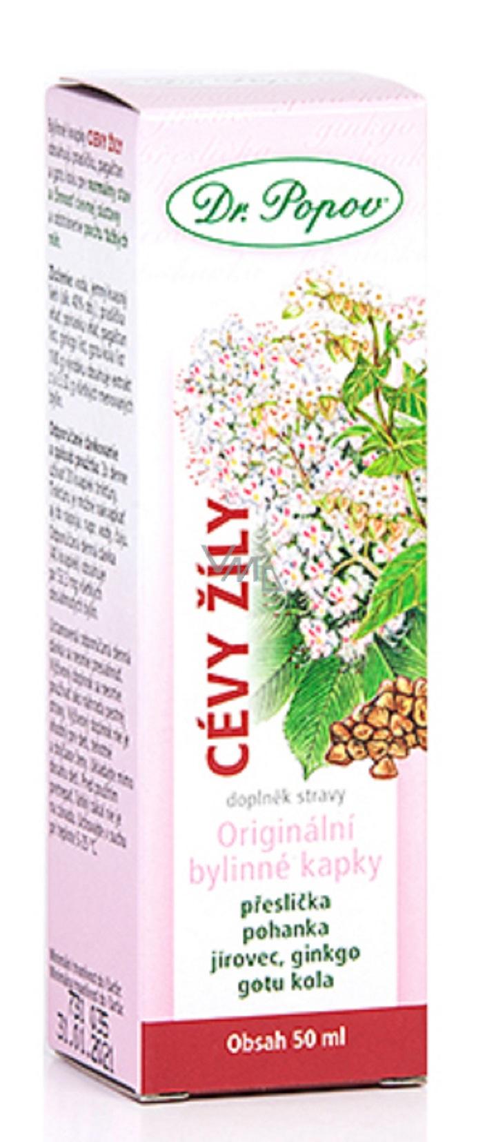 Dr.Popov herbal drops Vein veins 50ml 5442