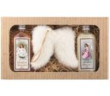 Bohemia Gifts & Cosmetics Vánoce sprchový gel 2 x 200 ml + Andělská křídla, kosmetická sada