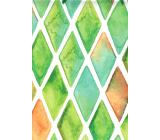 Nekupto Dárková papírová taška 45,5 x 33 x 10,5 cm Zelená 1553 50 KFXL