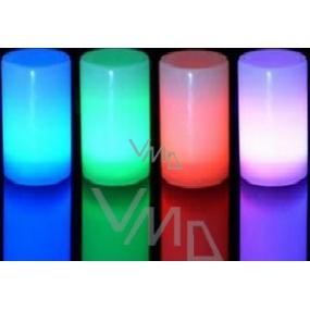Max Elektrická svíčka na baterie hřbitovní různé barvy 343 10 cm