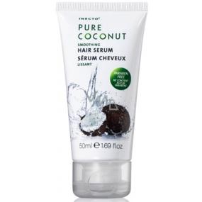Inecto Pure Coconut maska - sérum na vlasy s čistým kokosovým olejem 150 ml