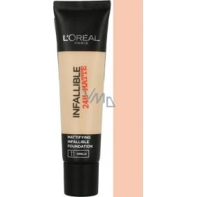 Loreal Paris Infallible 24h Matte Foundation matující make-up 11 Vanilla 35 ml