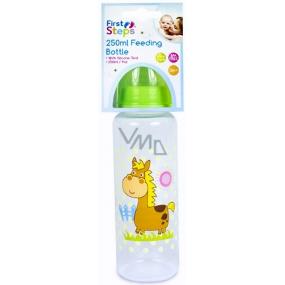 First Steps Farma Koník 0+ kojenecká láhev 250 ml