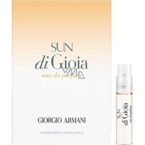 Giorgio Armani Sun di Gioia parfémovaná voda pro ženy 1,2 ml s rozprašovačem, Vialka