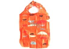 DÁREK Piz Buin Nákupní taška do kabelky oranžová, s pouzdrem 36 x 30 cm
