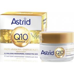 Astrid Q10 Miracle denní krém proti vráskám 50 ml