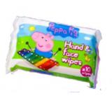 Jelly Works Peppa Pig - Prasátko Pepa vlhčené ubrousky 10 kusů